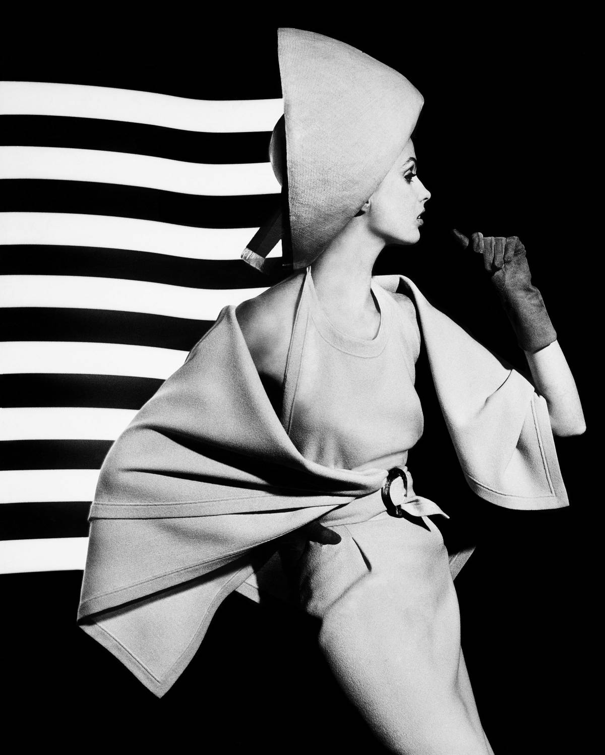 'Dorothy + white light stripes' (1962).WILLIAM KLEIN