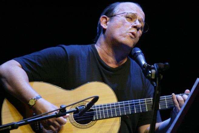 Imagen de archivo de un concierto de Silvio Rodríguez en el Auditori de Barcelona. (Roser Vilallonga)